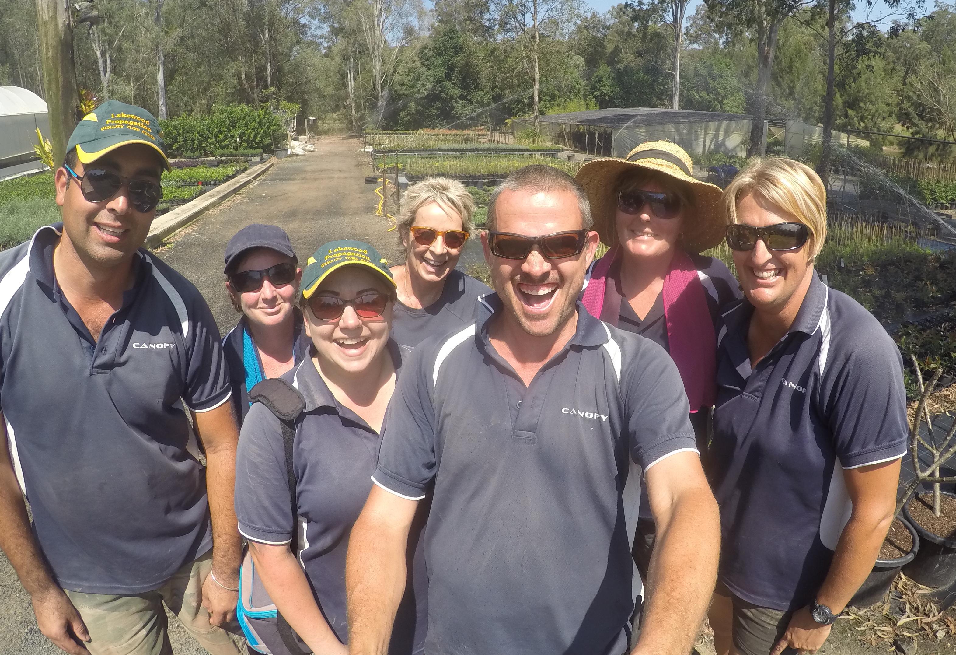 Meet the team at Canopy Wholesale Nursery